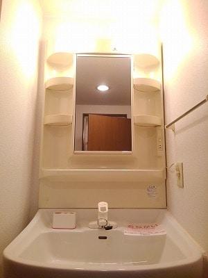 コーポリバーサイド・藤 A 02020号室の洗面所
