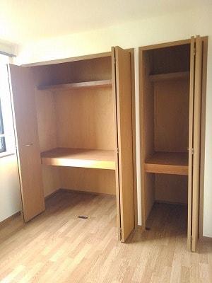コーポリバーサイド・藤 A 02020号室の収納