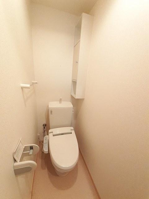 ベル スクエア 01050号室のトイレ