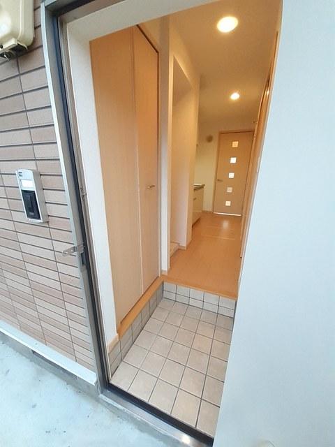 ベル スクエア 01050号室の玄関