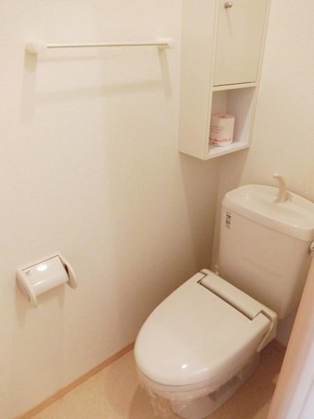 イエローフォレスト 01020号室のトイレ