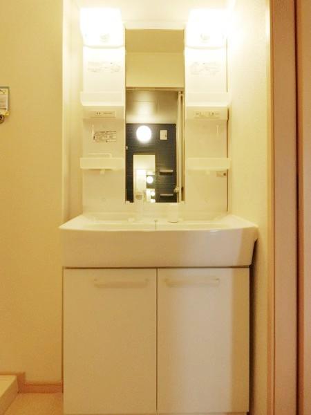イエローフォレスト 01020号室の洗面所