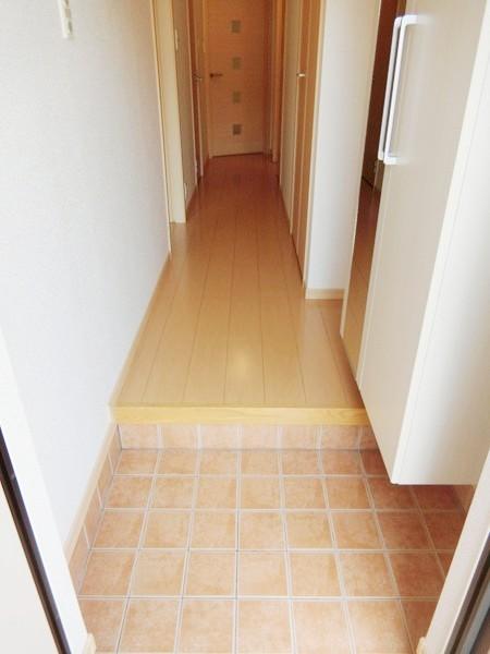 イエローフォレスト 01020号室の玄関