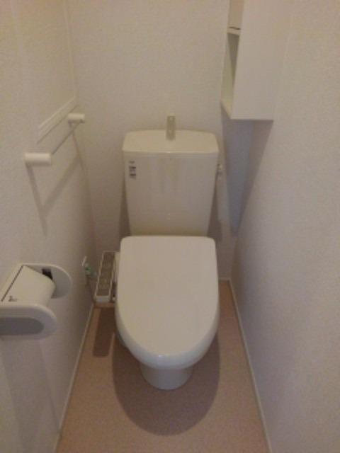 ボヌール レイワB 02010号室のトイレ
