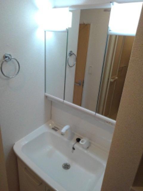アヴォンリー上天神Ⅱ 01030号室の洗面所