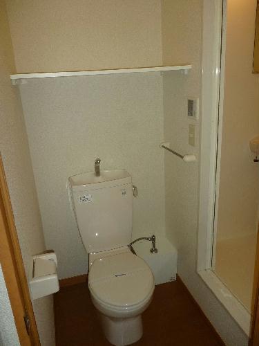 レオパレスグランシャリオ 101号室のトイレ