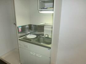 グリーンコーポ 102号室のキッチン