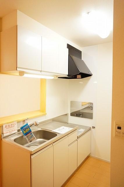 ジェルメⅠ 01020号室のキッチン