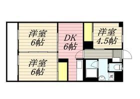 川本マンション・0201号室の間取り