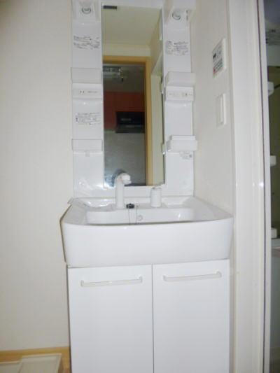 カーサ カトルセM 01040号室の洗面所