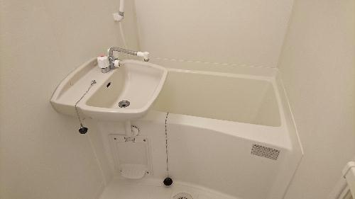 レオパレス立野 108号室の風呂