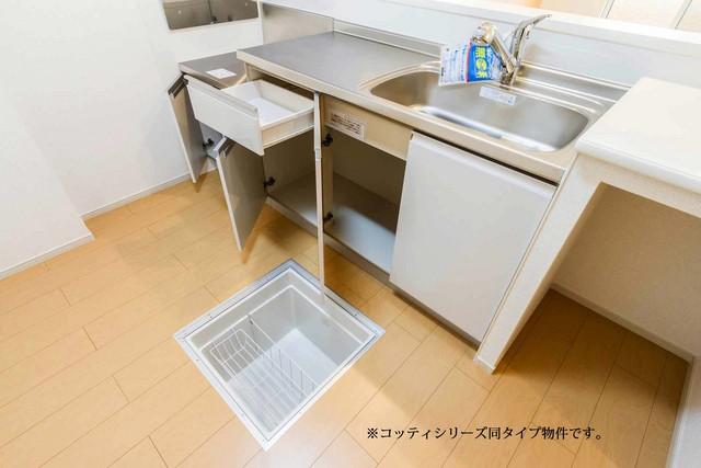 エスポワール・E 01020号室のキッチン
