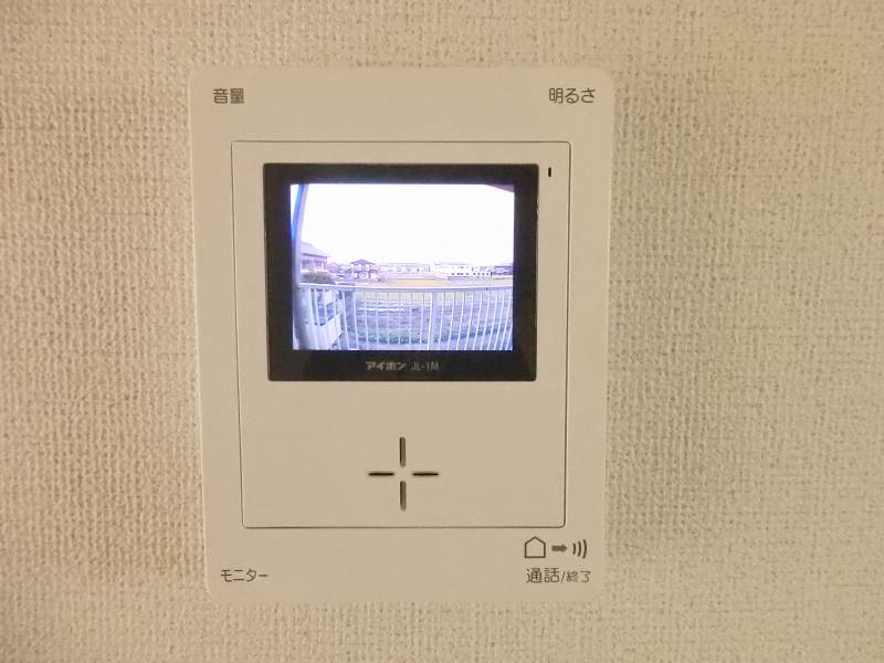 レナージュ 02040号室のセキュリティ