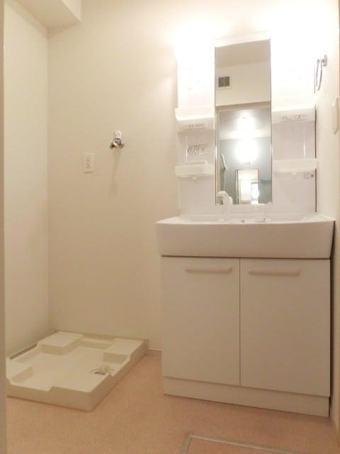 プラシード平和 A 02010号室の洗面所