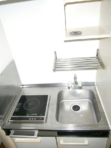レオパレスU 201号室のキッチン