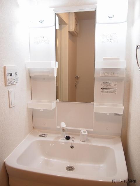プロムナード 02010号室の洗面所