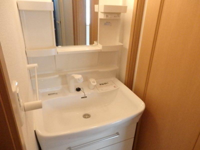 アルモニー A 01010号室の洗面所
