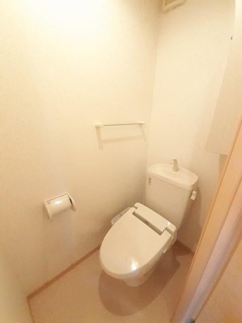 シー・エレガンテ Ⅱ 02020号室のトイレ