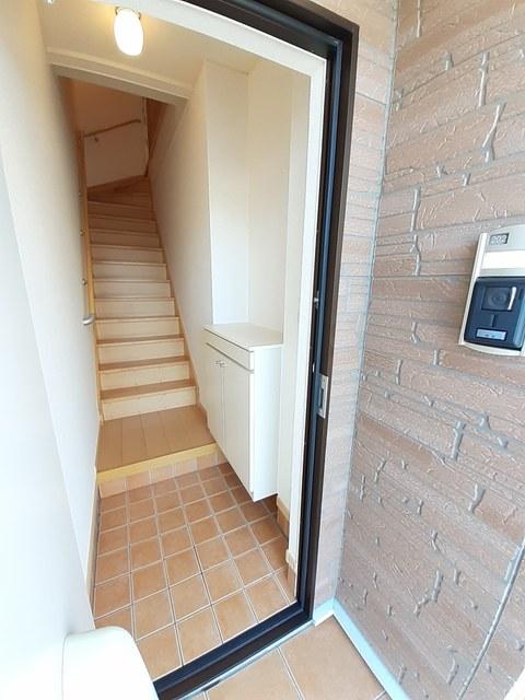 シー・エレガンテ Ⅱ 02020号室の玄関