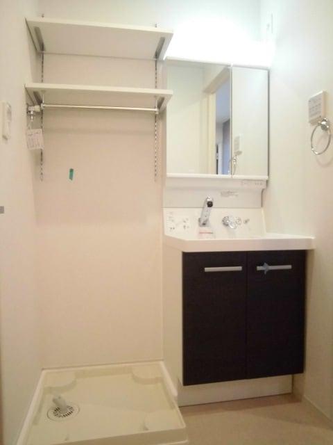 メゾン ド レスポワール 02040号室の洗面所