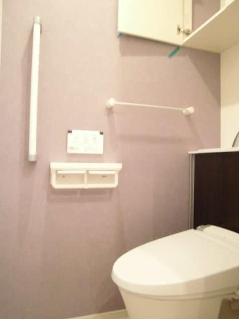 メゾン ド レスポワール 02040号室のトイレ