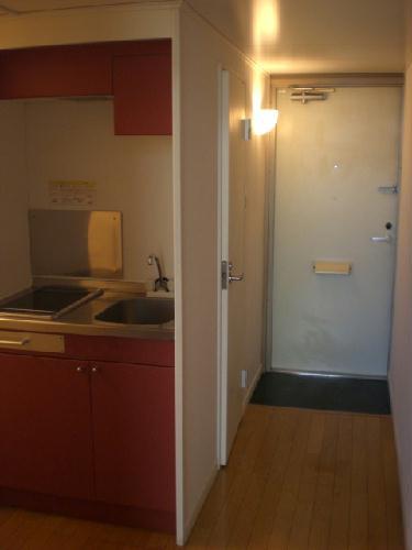レオパレスエチュード 101号室のキッチン