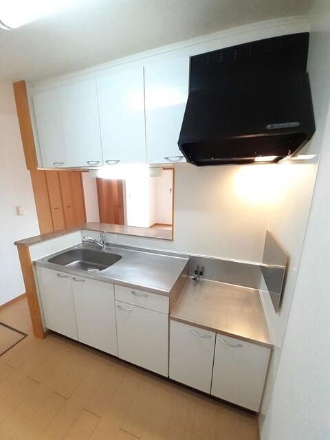 ルピナス A棟 01010号室のキッチン