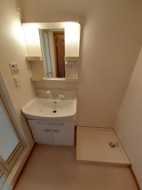 ルピナス A棟 01010号室の洗面所