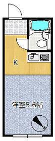 エイショウブロア 4A号室の間取り