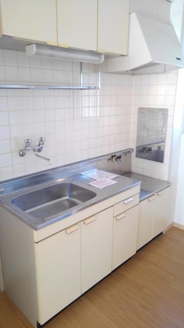 クレールケイ 01030号室のキッチン