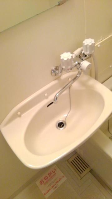 クレールケイ 01030号室の洗面所