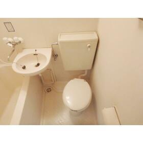 エスペランサ24 506号室のトイレ