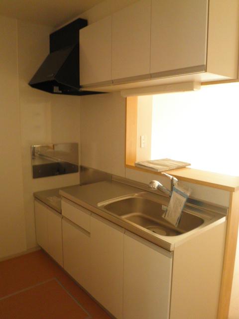 ラ ルーチェ 01020号室のキッチン