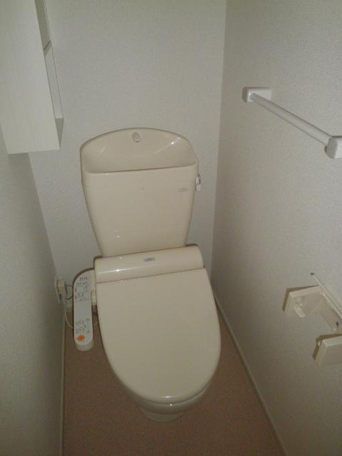 ラ ルーチェ 01020号室のトイレ