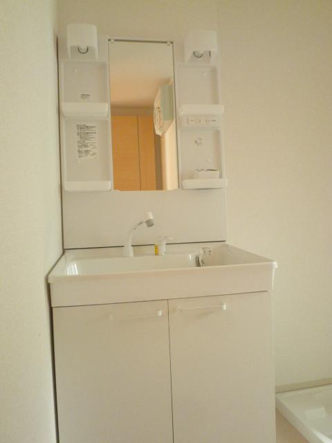 ラ ルーチェ 01020号室の洗面所
