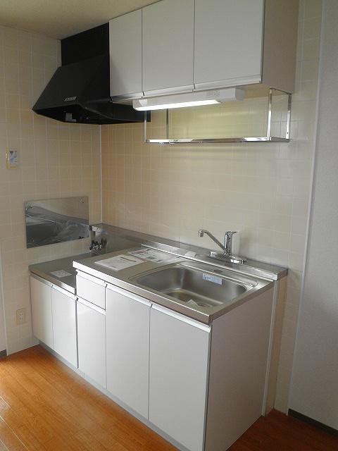 アドバンスB 02010号室のキッチン