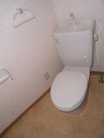 ハイリスベーネ池下 G-2号室のトイレ