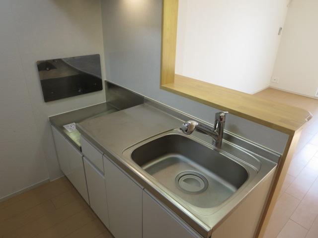 オリーブB 01010号室のキッチン