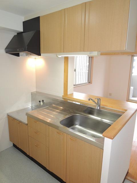 リバティ 201号室のキッチン
