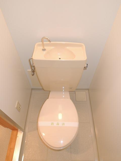 リバティ 201号室のトイレ