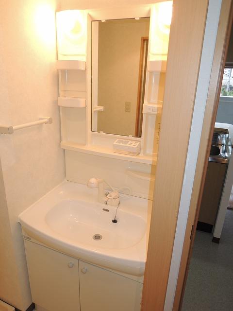 リバティ 201号室の洗面所