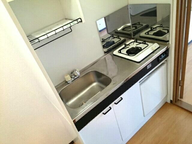 セピアコート2 02010号室のキッチン