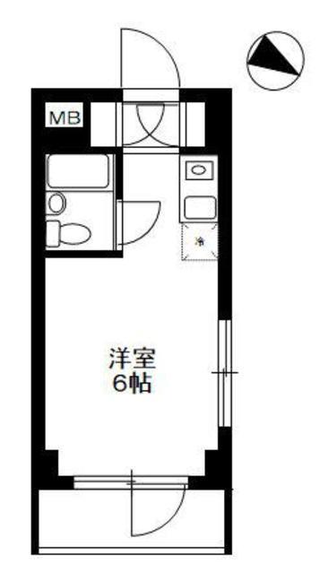 TOP東村山 A棟・301号室の間取り