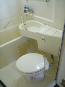 メゾン・ド・アルジャン 0113号室のトイレ
