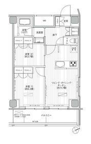 ヒューリック浅草橋江戸通・1108号室の間取り