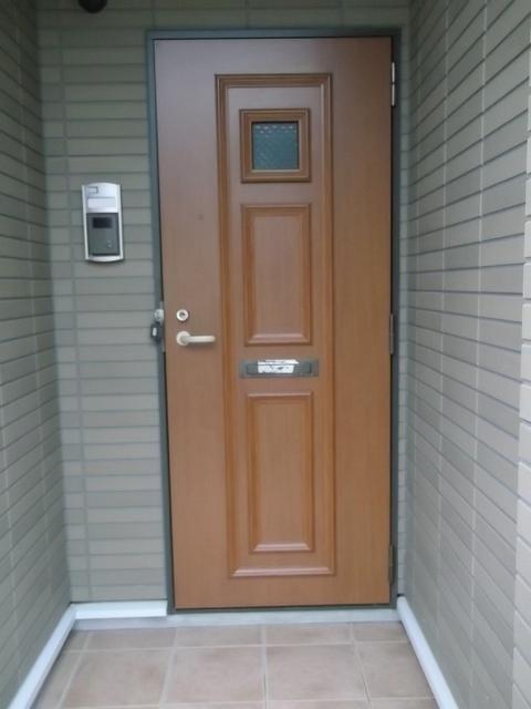 カンフォーラⅡ 01040号室の玄関