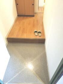 八千代フラット 201号室の玄関