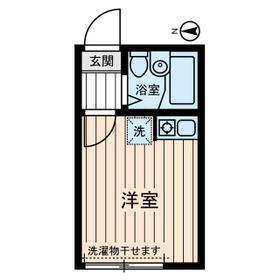アルゴ西新井・0102号室の間取り