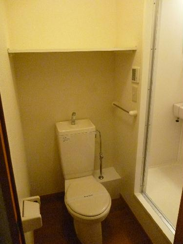 レオパレスグルワール 102号室のトイレ