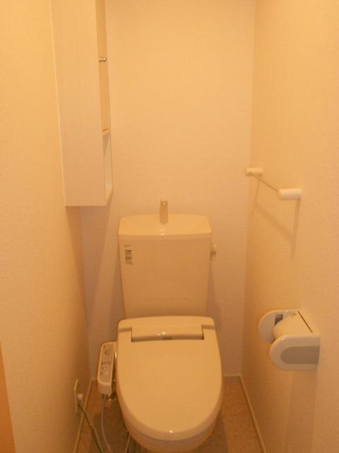 ポラリス 02020号室のトイレ